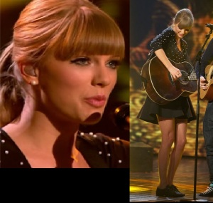Taylor Swift at the Britain's Got Talent 2013 Finale
