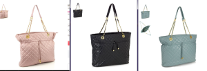 Maxine Quilted totes from Monsoon